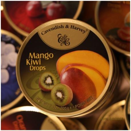 Mango Kiwi Bonbons - Made in Germany -