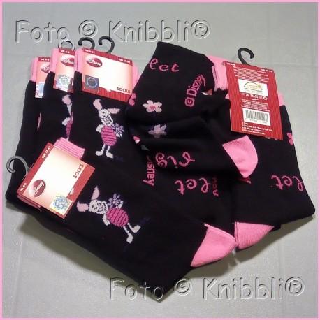 Socke 37-41 Winnie Puuh 003 Ferkel