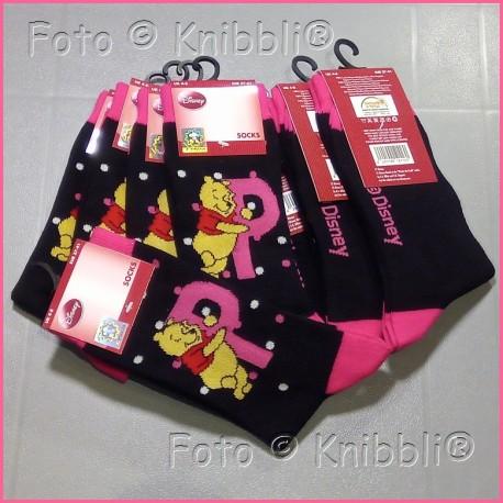 Socke 37-41 Winnie Puuh 004 Pooh