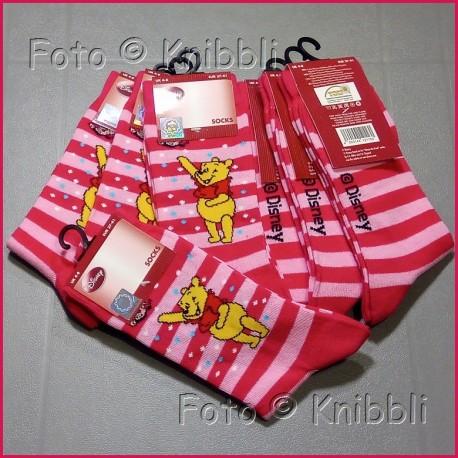 Socke 37-41 Winnie Puuh 007 Pooh