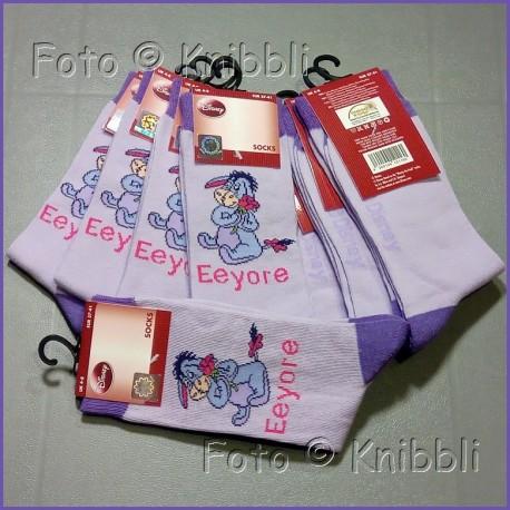 Socke 37-41 Winnie Puuh 011 I-aah