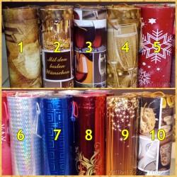 Flaschen Geschenk Box en Rund