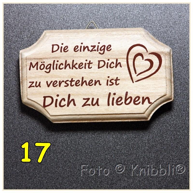 Holz Schild Wand Hänger Tür Fenster Oder Stehend Ca 7x115cm Spruch 24