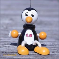Kärtchen Bilder Halter Motiv Pinguin