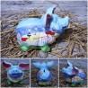 Sparschwein Kunst Strand-Urlaub