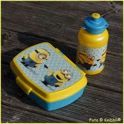 Set Box und Trinkflasche Minions