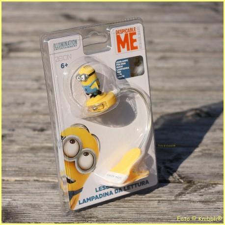 Leselicht mit Clip und 3D Minion