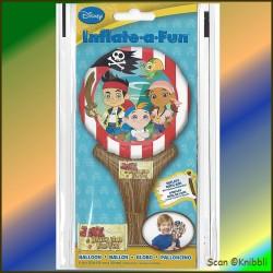 Hand Stabhals Folienballon JAKE