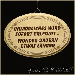 Schild Holz ca 12,5x18,5cm Spruch 04
