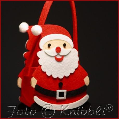 Filz Geschenk Tasche Weihnachtsmann