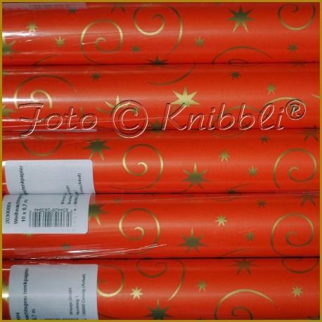 XXL Geschenkpapier 70 cm x 10 Meter 06