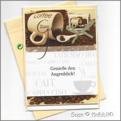 Geburtstagskarte Klappkarte mit Umschlag 011