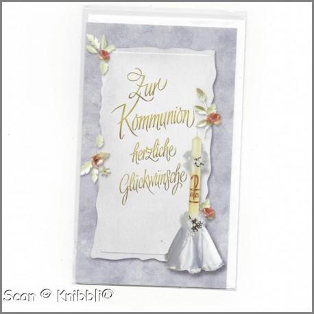 Glückwunschkarte Kommunion 003