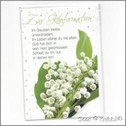 Glückwunschkarte Konfirmation 001