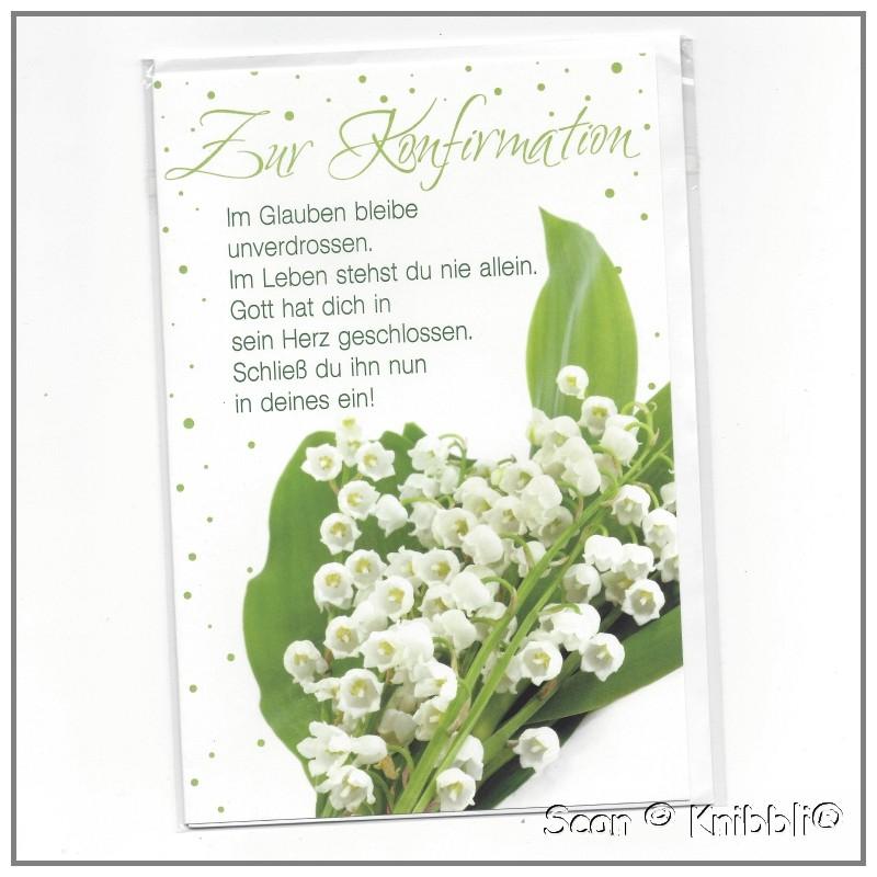 gl ckwunschkarte konfirmation 001 gratulationskarte mit. Black Bedroom Furniture Sets. Home Design Ideas