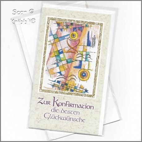 Glückwunschkarte Konfirmation 002