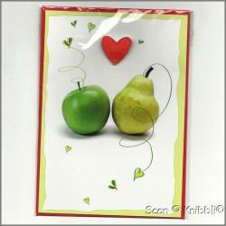 Grußkarte Liebe Freundschaft Familie 001