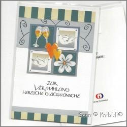 Glückwunschkarte zur Hochzeit 001