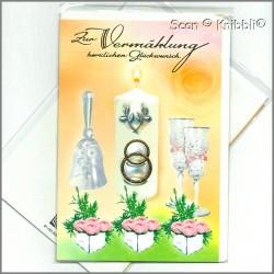 Glückwunschkarte zur Hochzeit 002