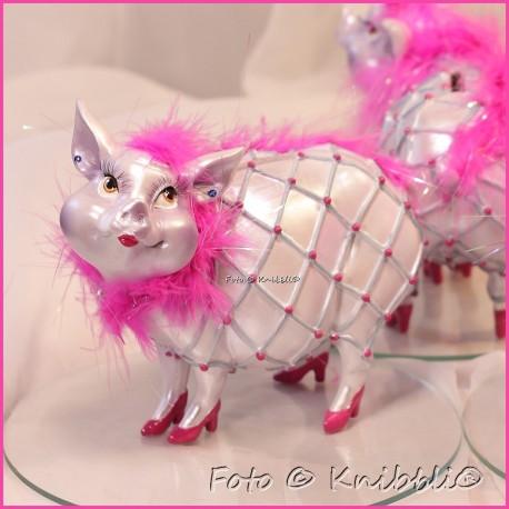 Sparschweinchen als bezaubernde Diva 08