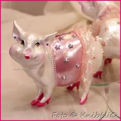 Sparschweinchen als bezaubernde Diva 09