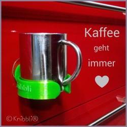 Halter für Weinglas Kaffeebecher Sektschale Fön Behälter uvm