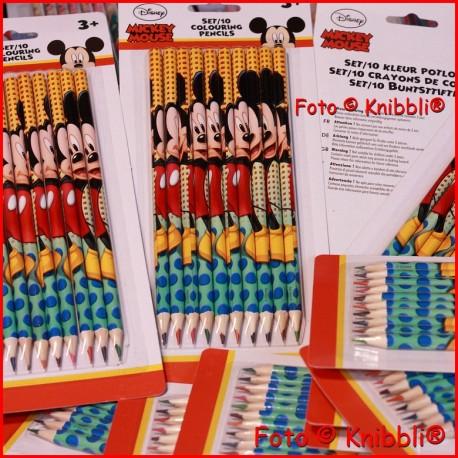 10er Mickey Mouse Disney Buntstifte