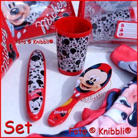 Set Kulturtasche mit Inhalt Disney Mickey Mouse