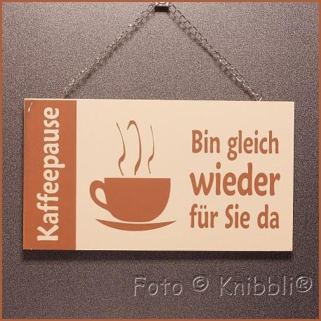 Holz Vollfarbe Schild 10x18 Spruch 07
