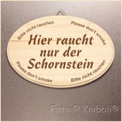 Schild Holz ca 12,5x18,5cm Spruch 09