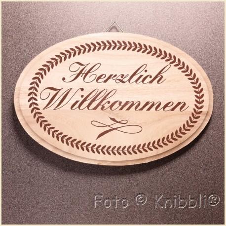 Schild Holz ca 12,5x18,5cm Spruch 26