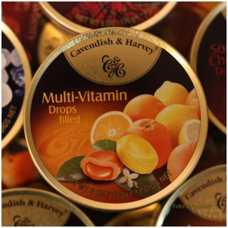 Gefuellte Multi-Vitamin Bonbons - Made in Germany -