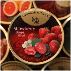 Bonbons gefüllt Erdbeergeschmack - Made in Germany -