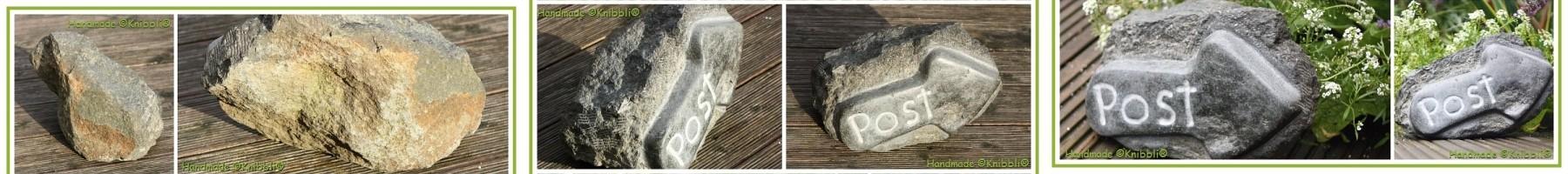 Stein-Kunst Zertifikat Einzelstück Markenschutz